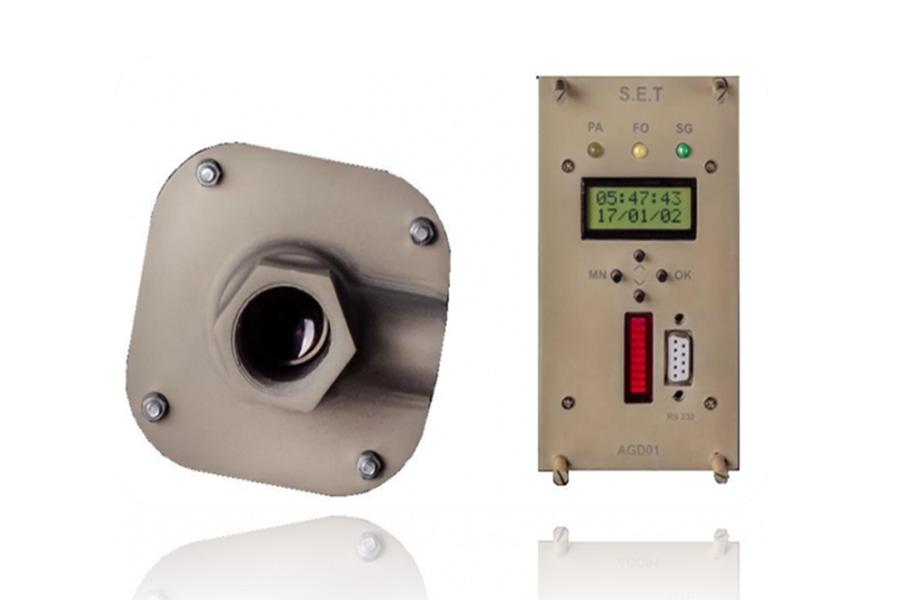 سنسور شعله بین AGD01، شعله بین، اسکنر شعله
