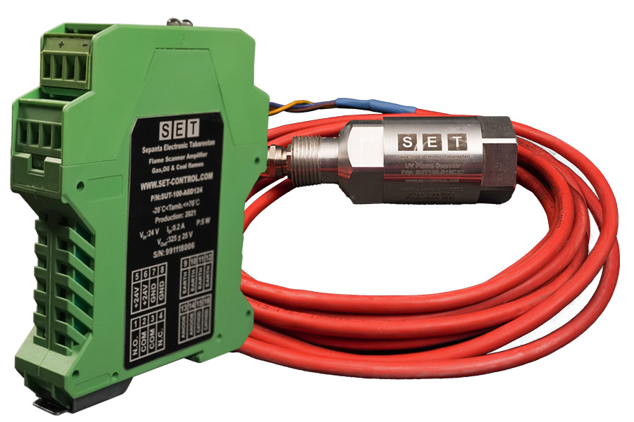 سنسور تشخیص شعله sut100، فلیم اسکنر های سپنتا الکترونیک طبرستان